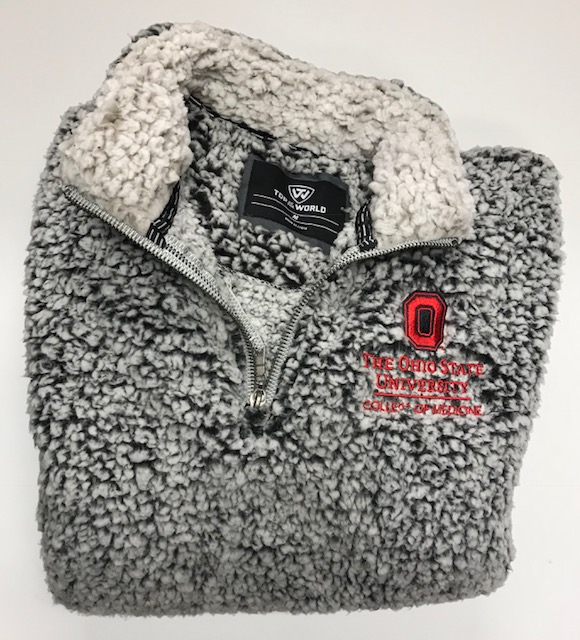 Sherpa 1/4 Zip Price: $60 100% Polyester  Sizes Available: S-XXL