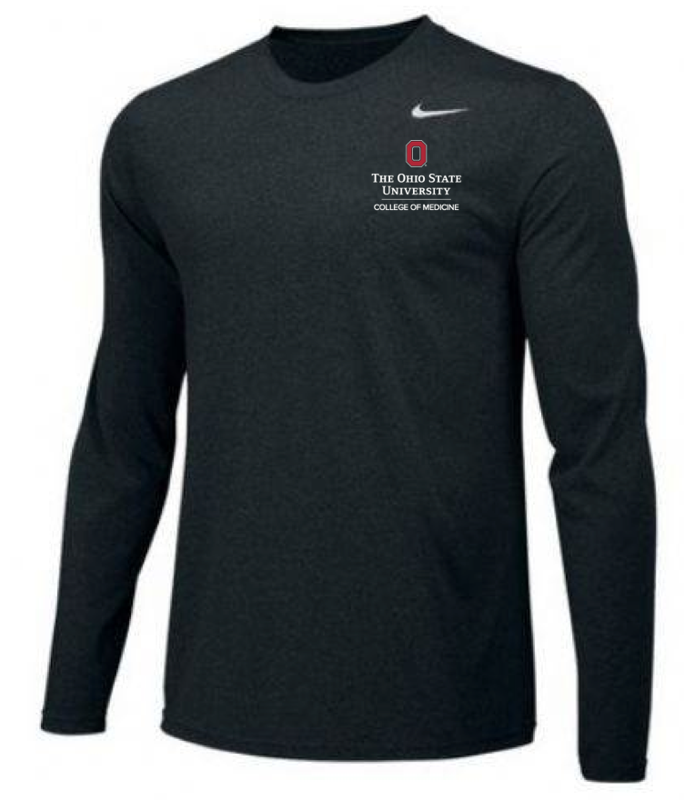 Men's Dri-Fit Long Sleeve Tee Price: $35 100% Polyester Sizes: S-4XL