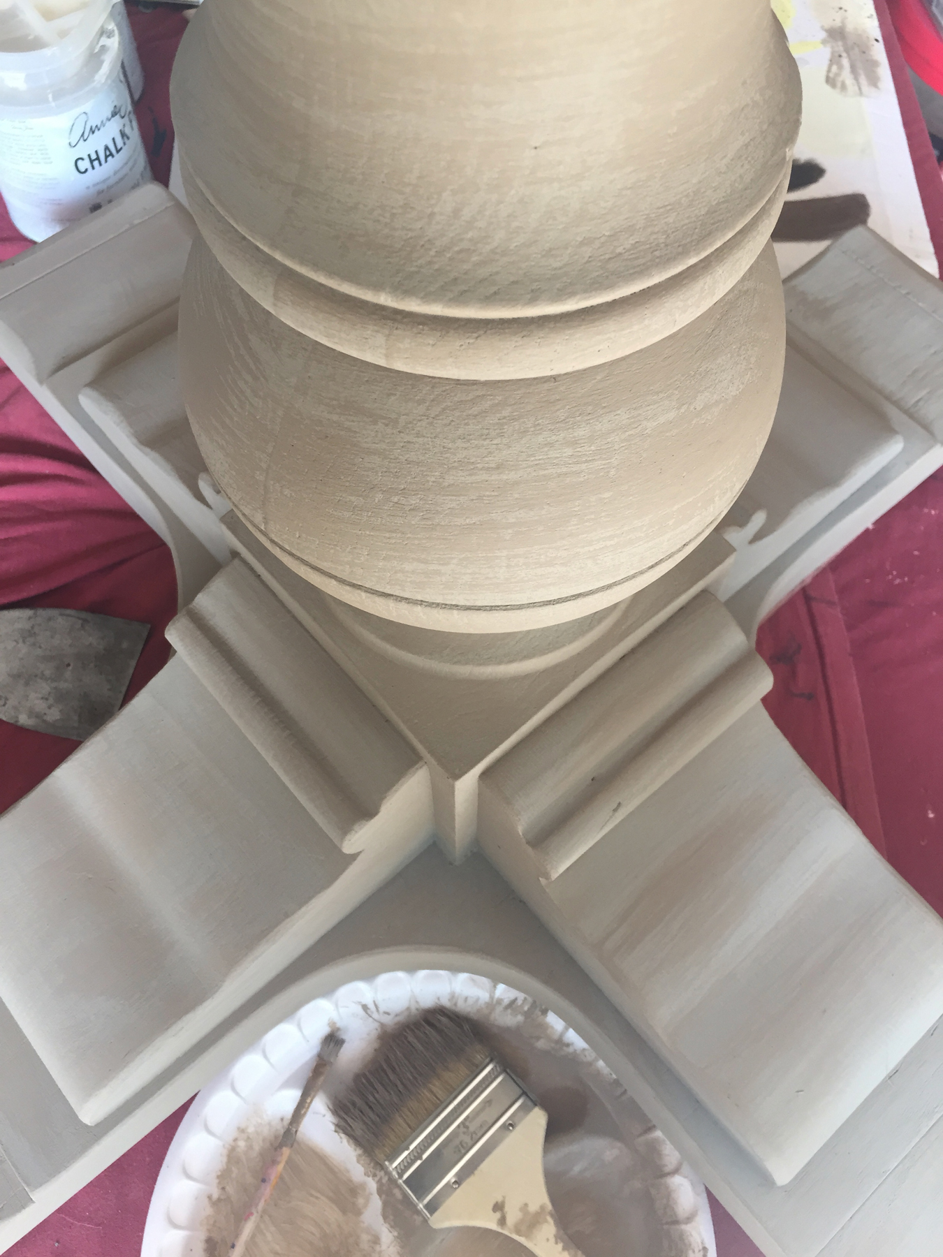 crimson + oak designs | graphite & metallic pedestal table tutorial STORY 002.JPG