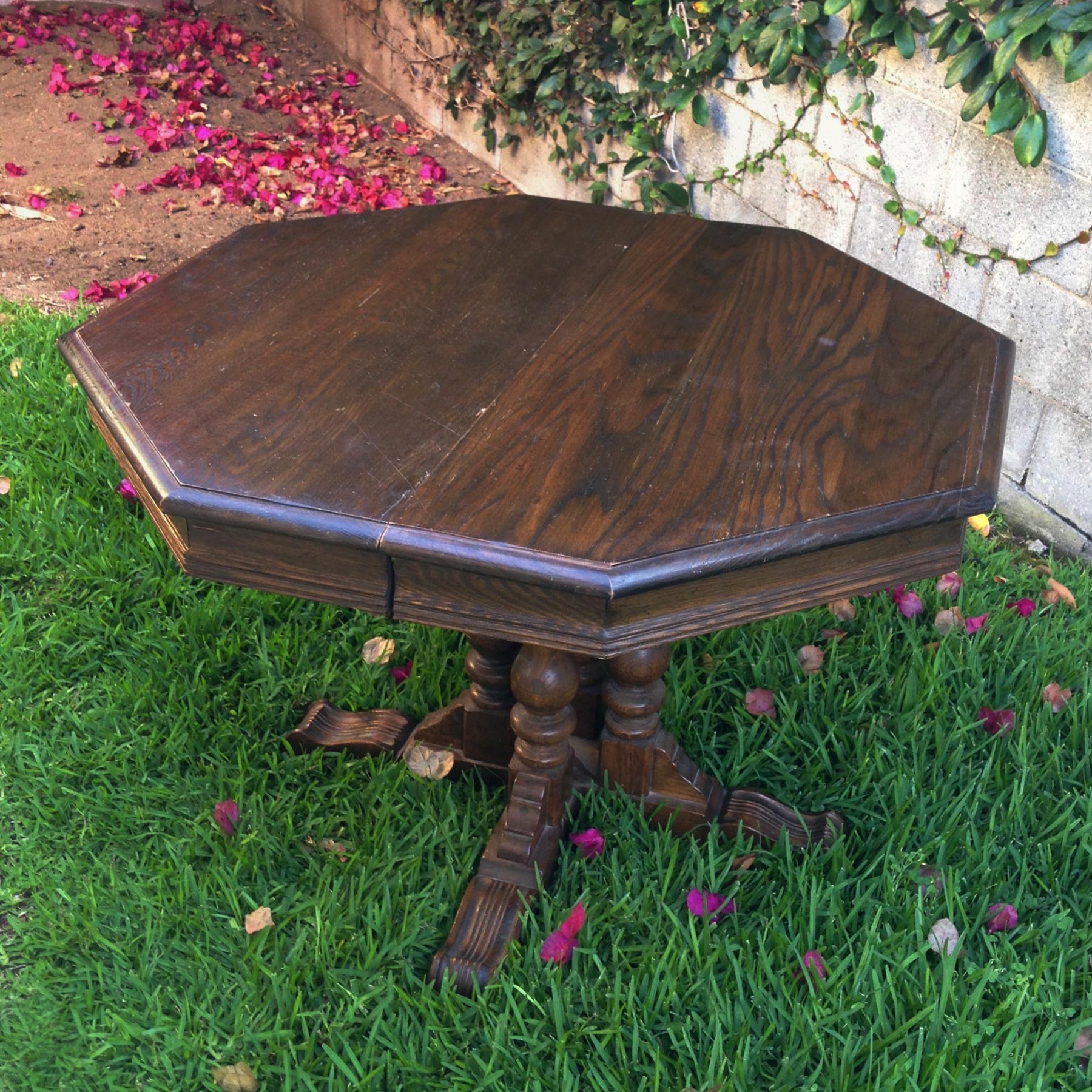 crimson + oak designs | vintage ethan allen dining table O.jpg