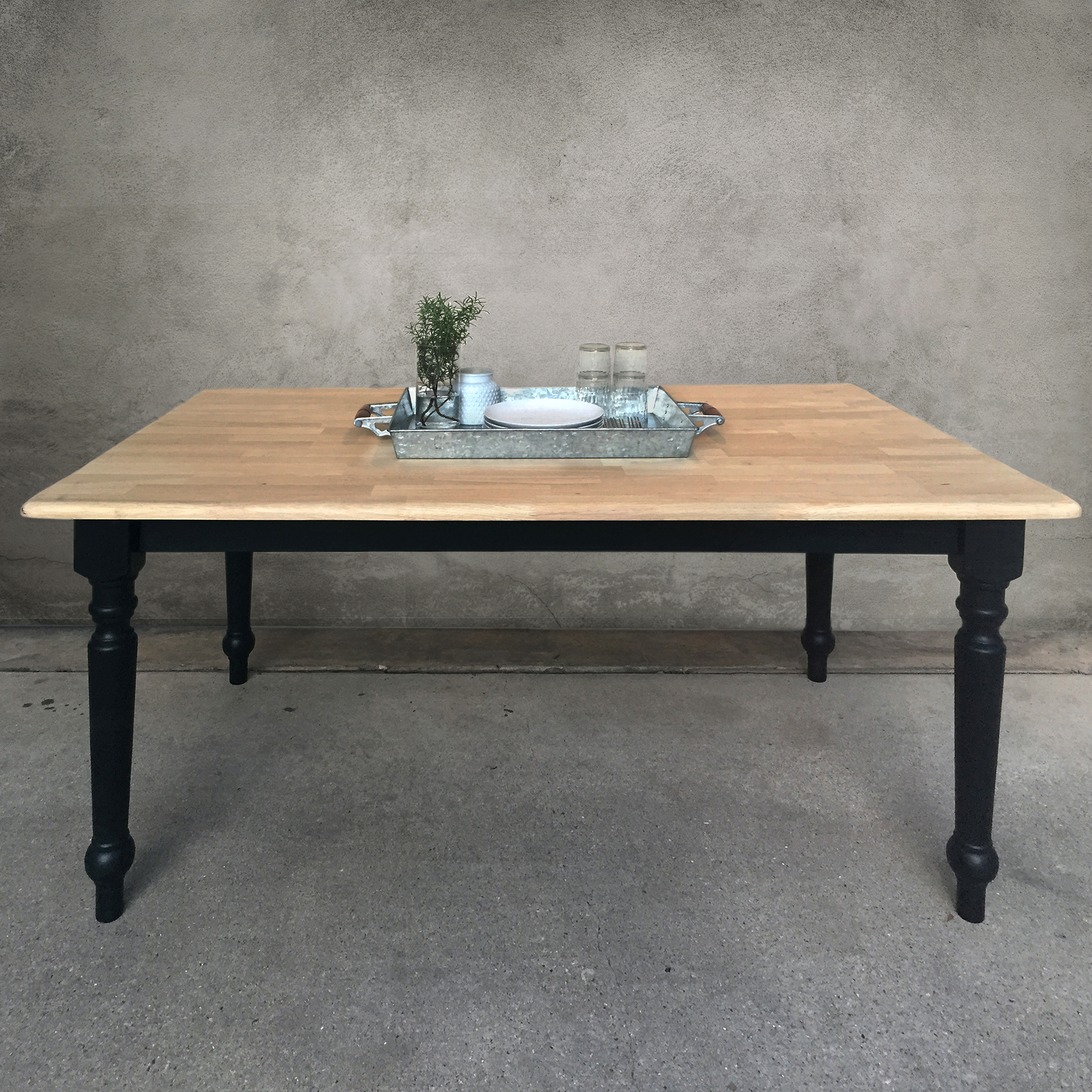 modern farmhouse table  |  $425