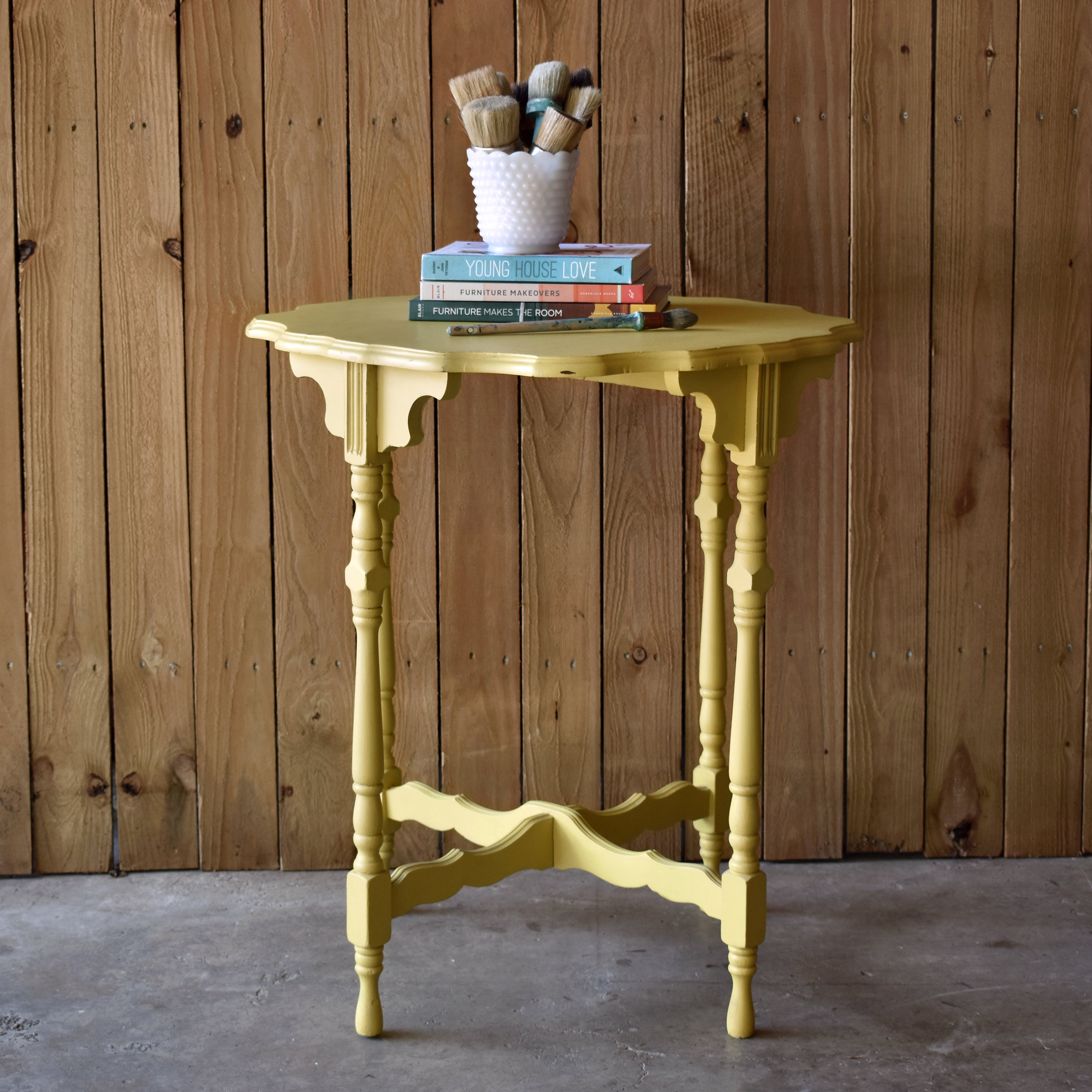 crimson + oak designs | english yellow accent table C.jpg