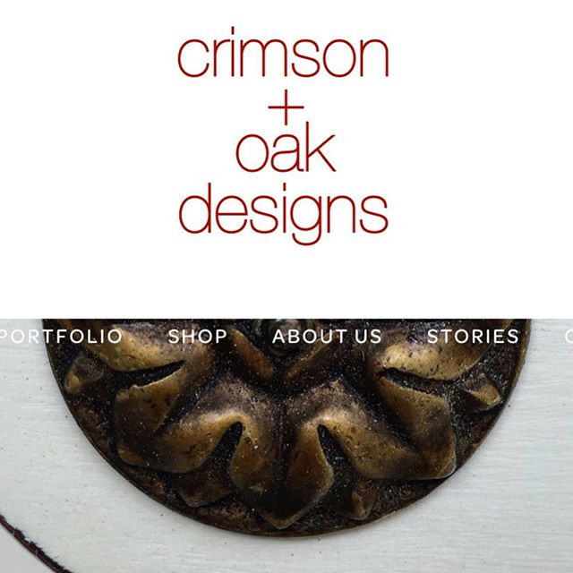 "In celebration of Small Business Saturday we are so excited to announce that crimson + oak designs finally has a real, live website! 🙌🏼 ✨ A website domain was purchased a long time ago with the hope of making a hobby/side hustle into something more but as with life so many things got in the way. And while to me a website is truly never ""done"" (but is rather a living and breathing glimpse of a business at any given moment in time), this website is done enough for today! ✨ So, instead of waiting another few days (or weeks!) while we try to find just the right words or photos or layout, we are jumping on in and opening our proverbial doors. The exact idea and heart of a small business or side business is sometimes about going with what you have, and making it work! So, that's what we're doing. A huge thanks to the other half of the ""we"" in this endeavor, my amazing husband who's always encouraging and supporting me! Thank you ☺️ ✨ #shopsmall #crimsonandoakdesigns #smallbusiness #paintedfurniture #refinishedfurniture #furnitureredesign #dallasdesign #estyseller #excitingtimes"