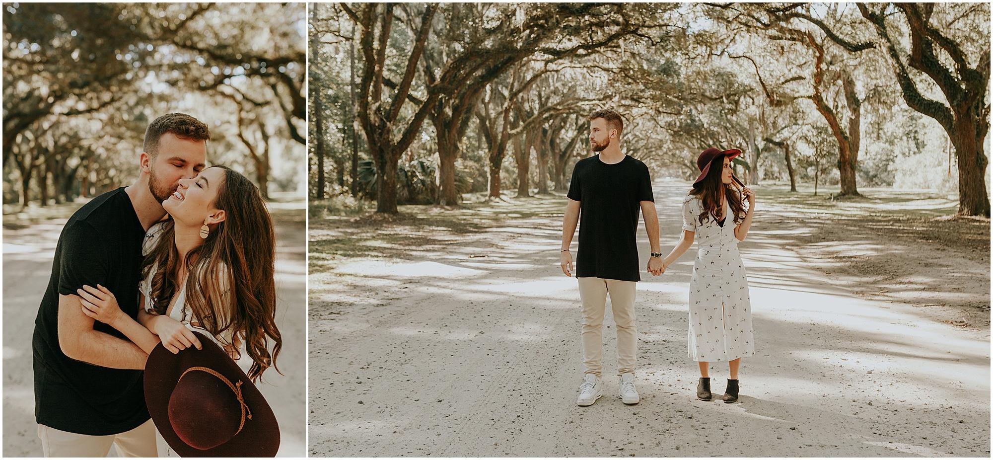 Savannah engagement photos