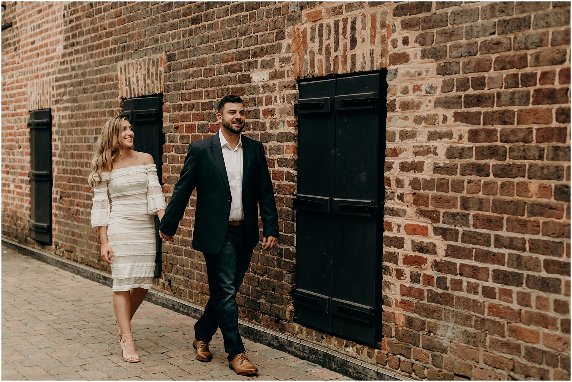 Fun Loving Old Roswell Mill / Downtown Roswell Engagement Session