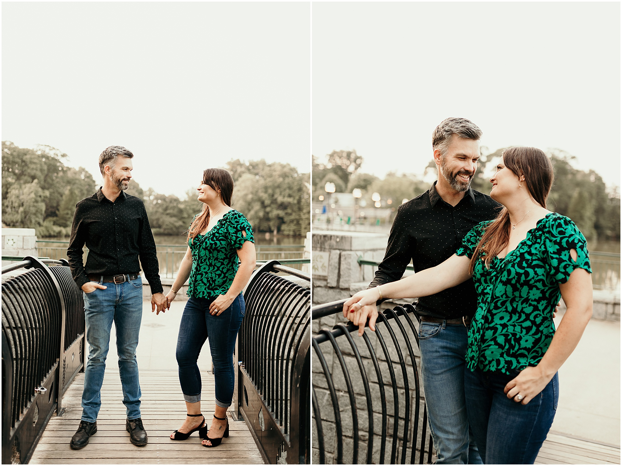 Atlanta Piedmont Park Engagement Photoshoot - Atlanta Engagement Photographer