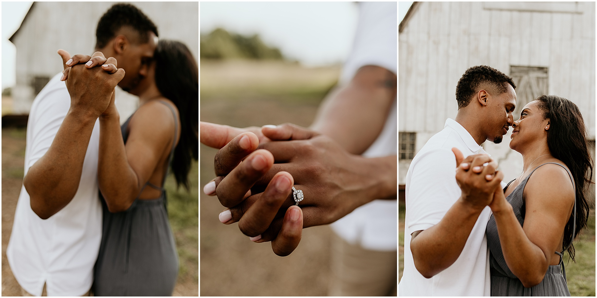 Arabia Mountain Sunset Engagement Session