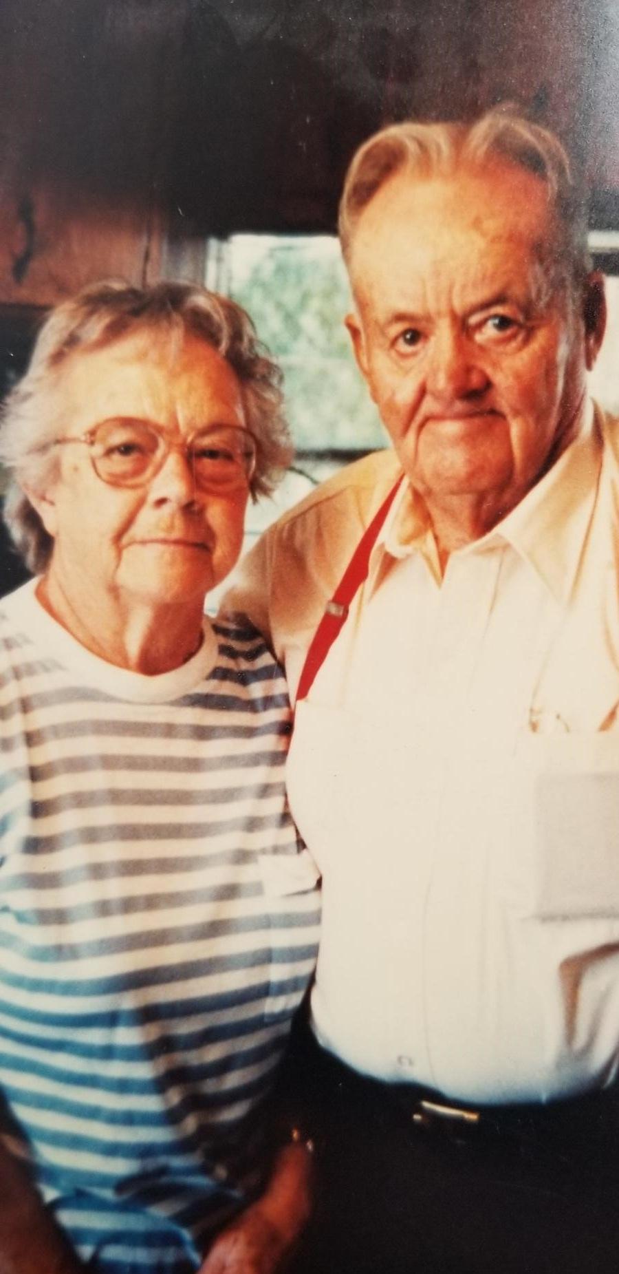 My Grandparents, Aylmer & June Ruebush. I miss them every day.