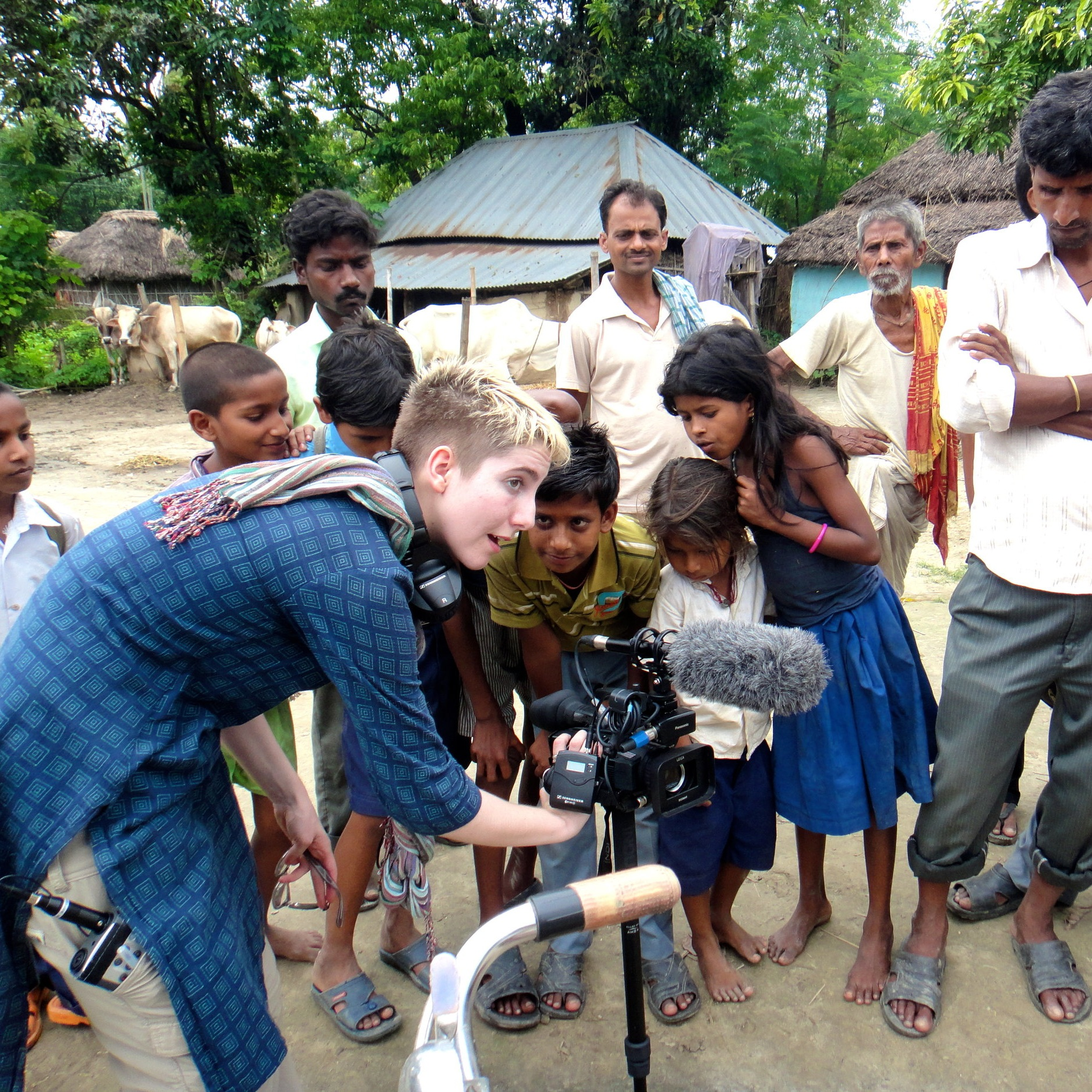 Empower the next generation - to use film & media to highlight the climate crisis.