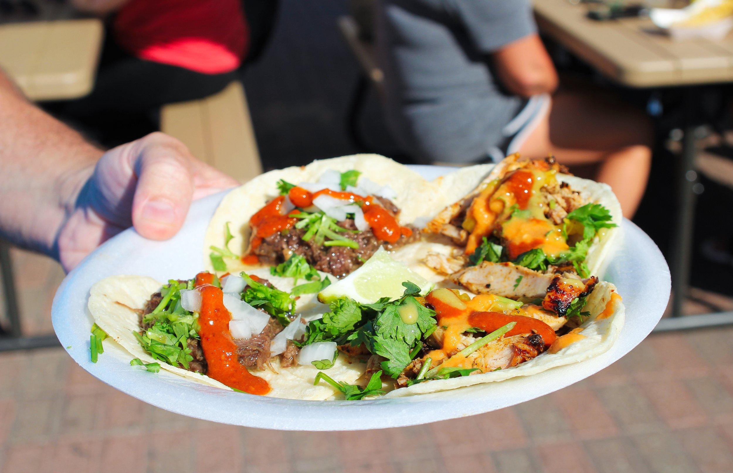 Muchos Tacos, Downtown Farmer's Market