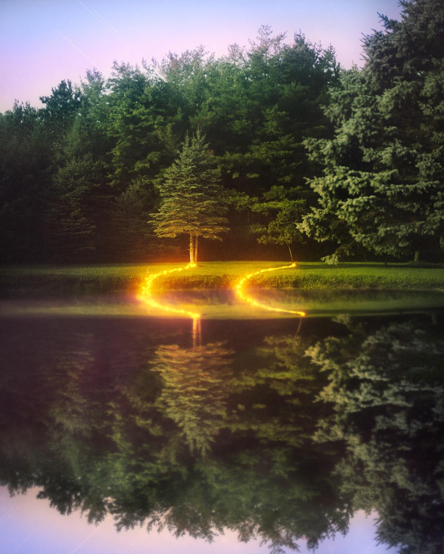Deford, Michigan, (Pond)