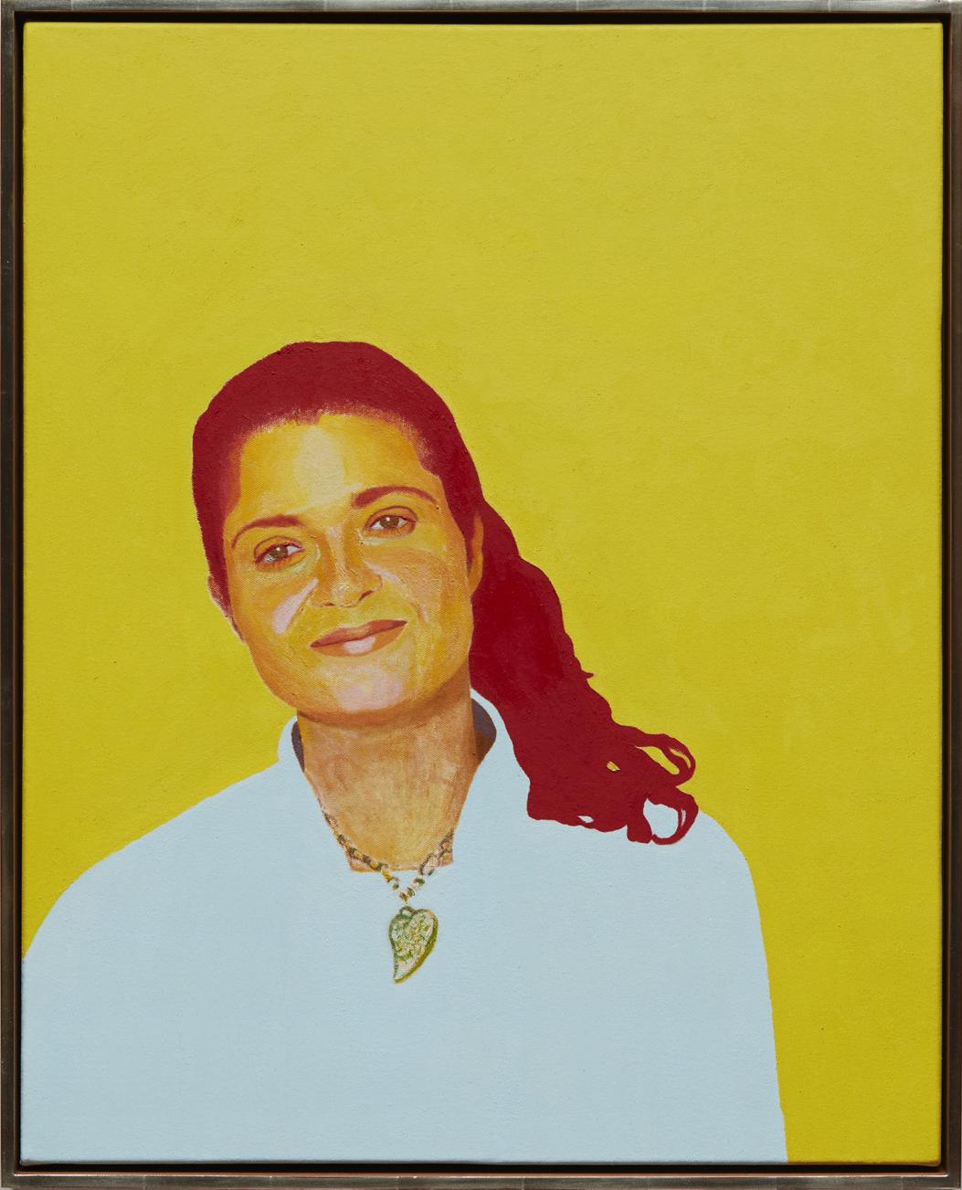Alex Guarnaschelli - oil on canvas, 30 x 24