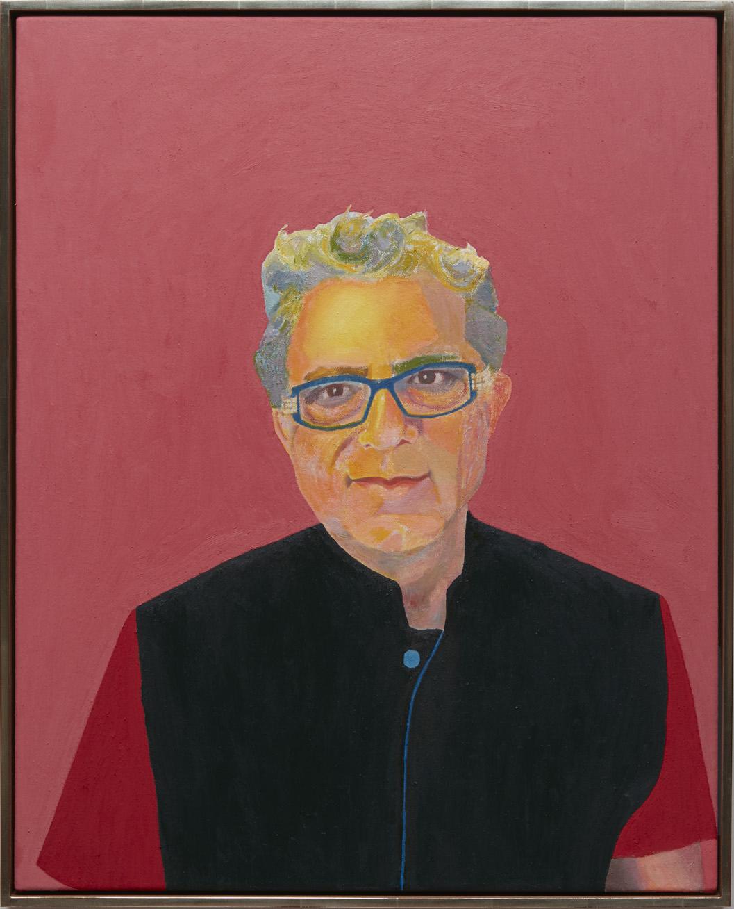 Deepak Chopra - oil on canvas, 30 x 24