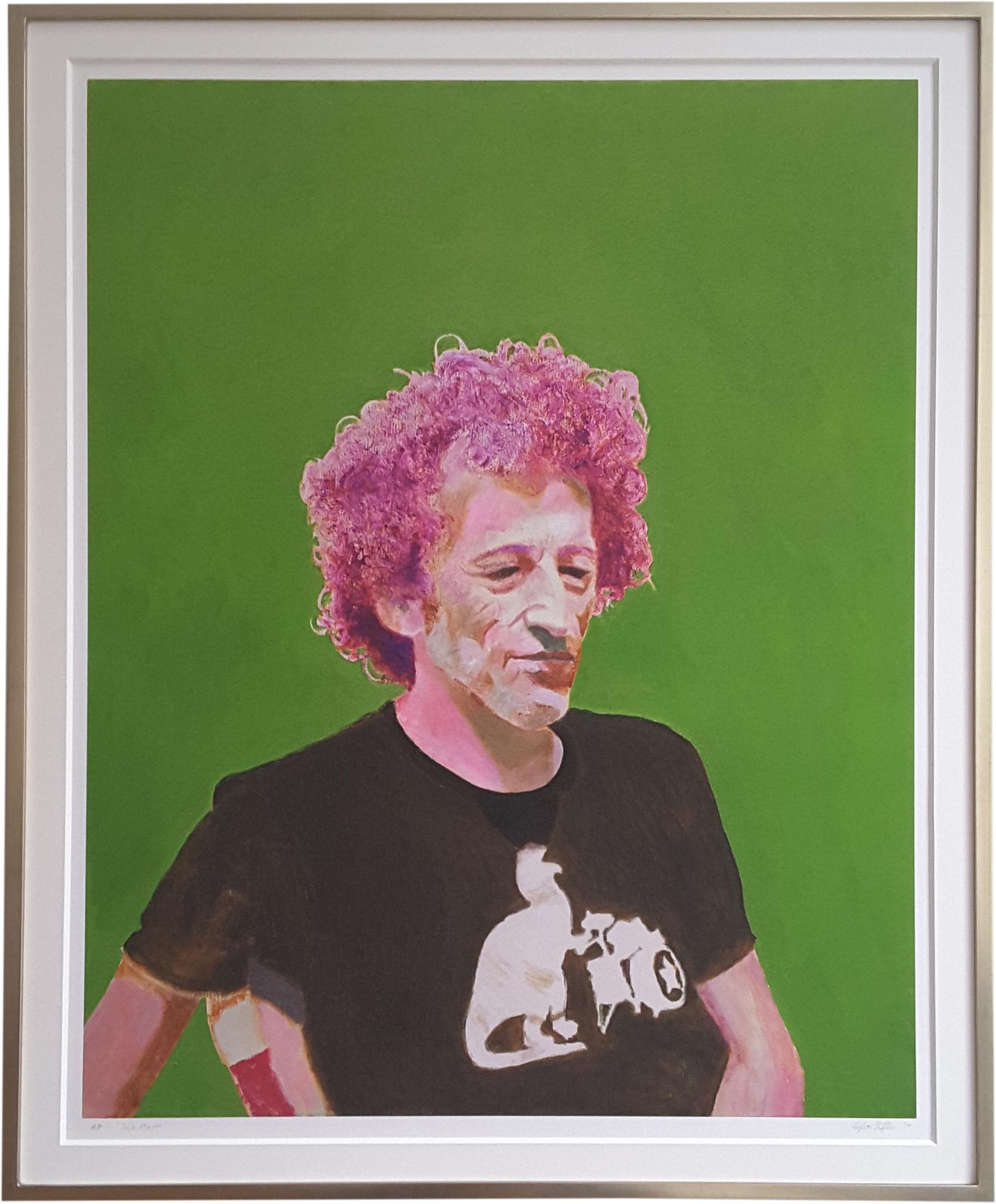 Jojo Mayer, framed print.jpg
