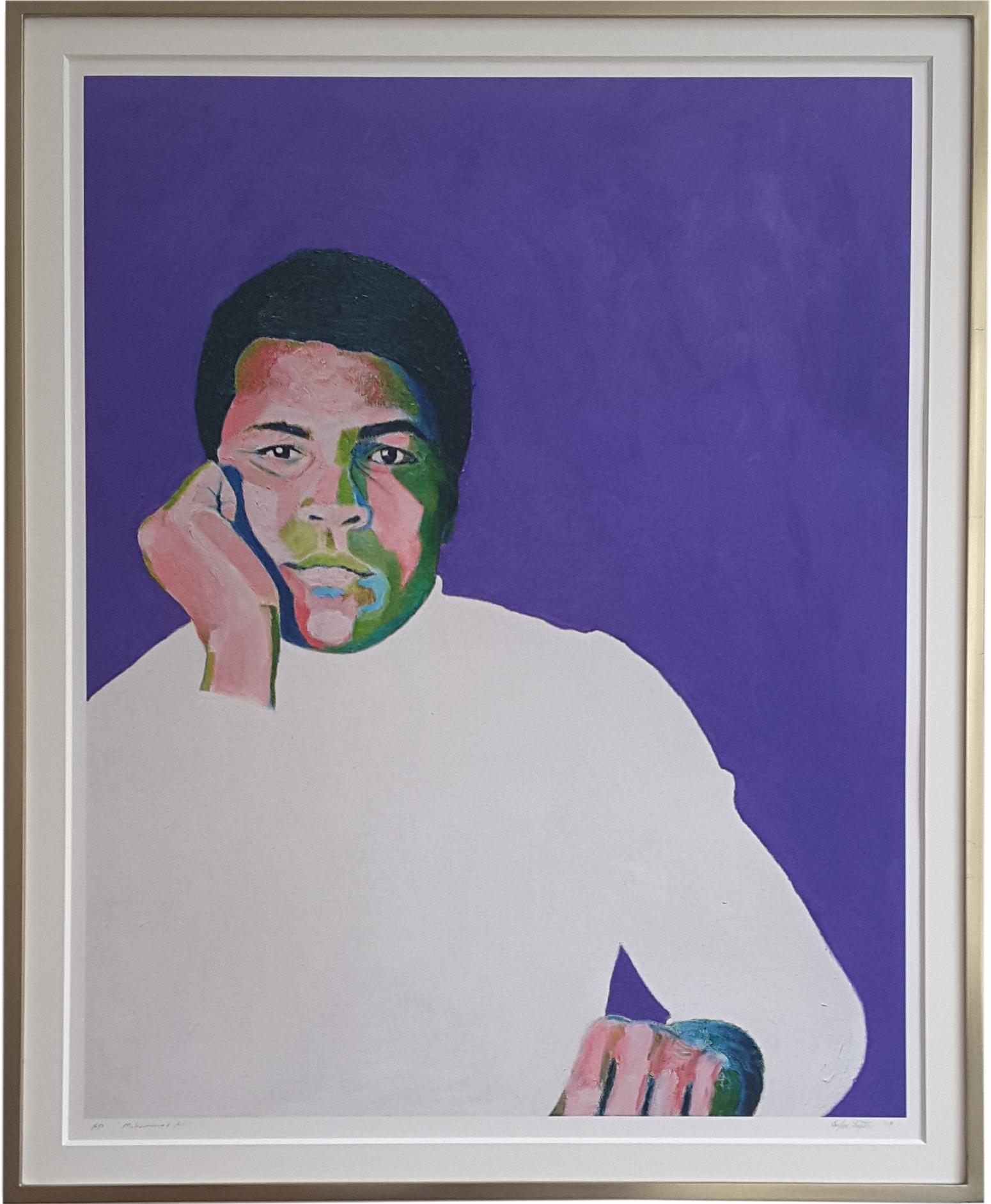 Muhammad Ali, framed print.jpg