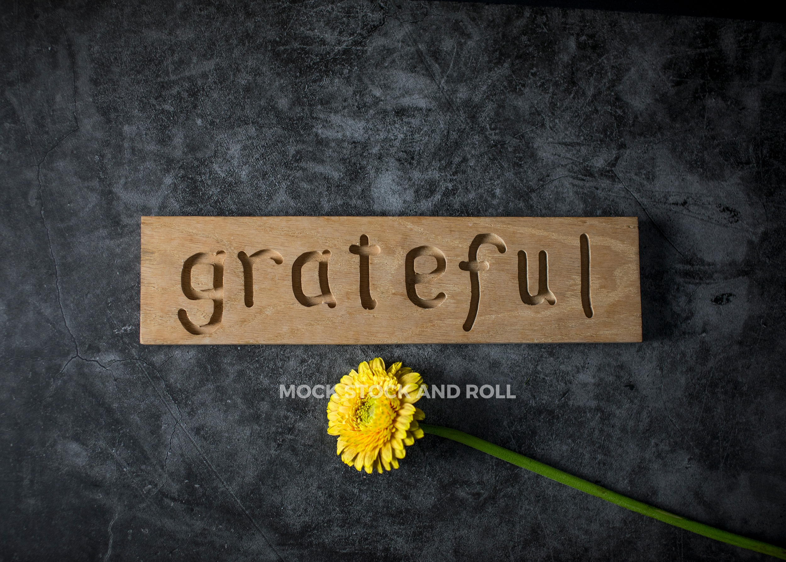 Grateful sign in this fall styled stock photo bundle from Mock Stock and Roll Photography.