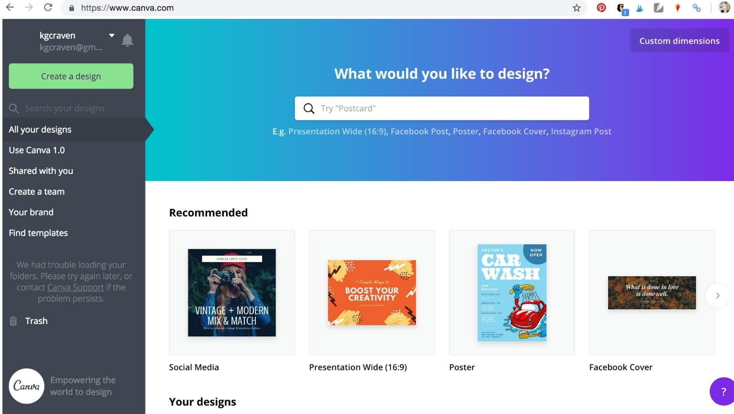 canva homepage how to use stock photos in your business mock stock and roll