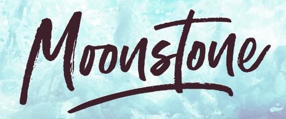 moonstone font example