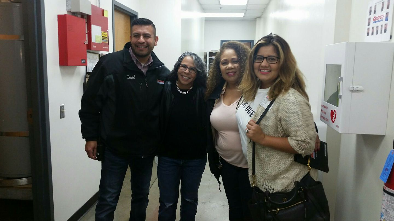 Costco employees in Mira Loma