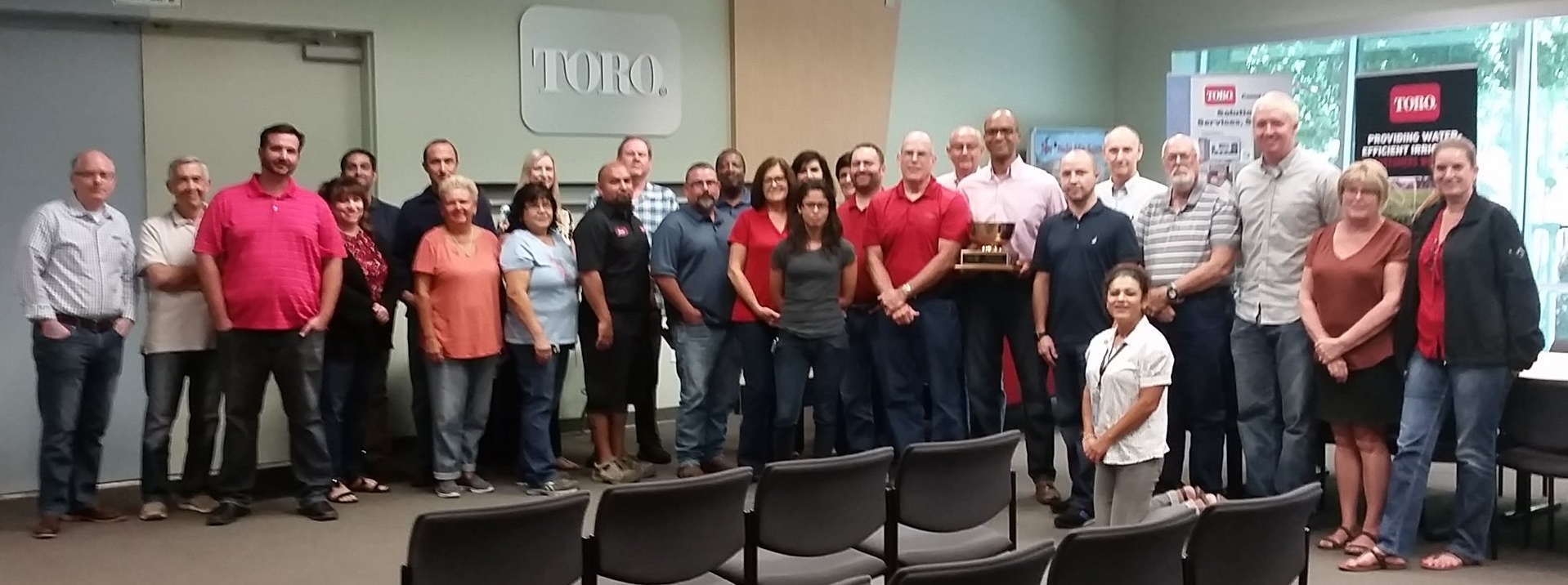 The Toro Company employees