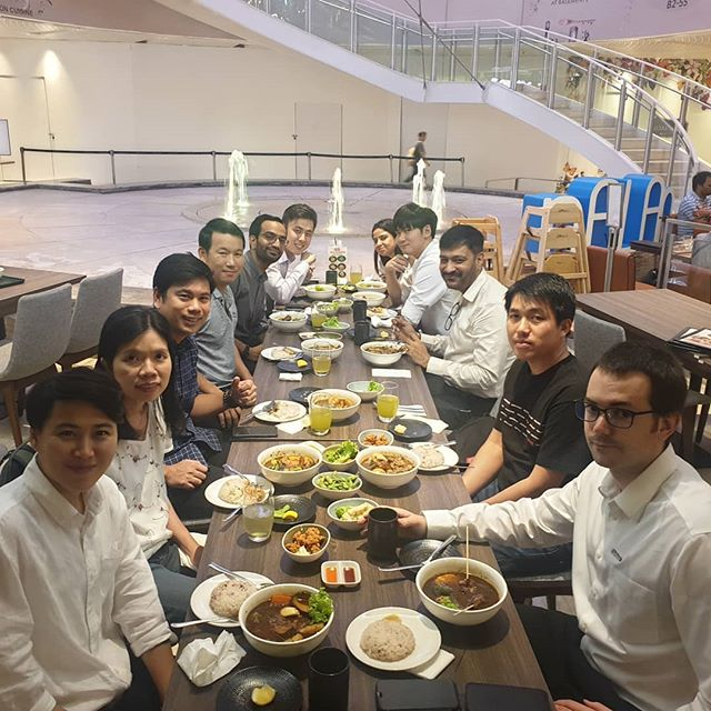 Looking for a sumptuous lunch for your team with great ambience and amiable service?  Please visit us at #jewelchangiairport# and #capitol singapore#  See you there!