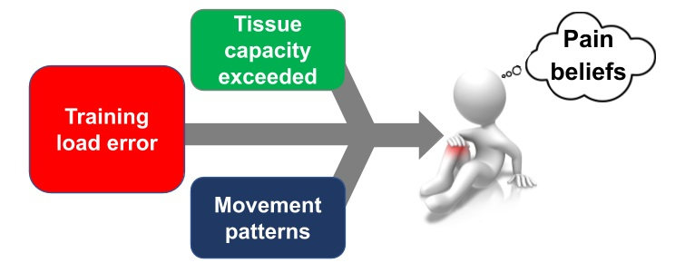 Figure 1:  Factors relating to etiology and recovery from ITB pain