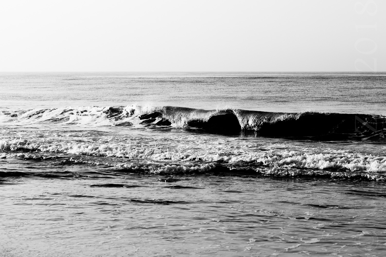 """Wave in Grayscale"", 2012"