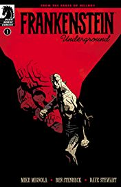 Ever dance with the Franky in the pale undrground's moonlight?   Credit: Mike Mignola