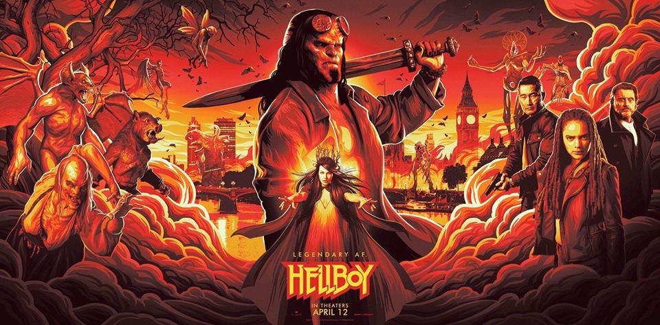 Hellboy (2019)  New York Comic Con poster