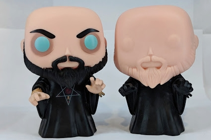 Rasputin Production Piece and Color Proto by Funko