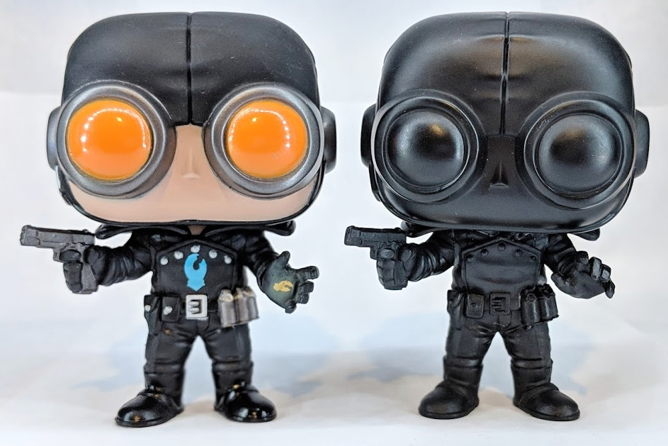 Lobster Johnson Production Piece and Color Proto by Funko