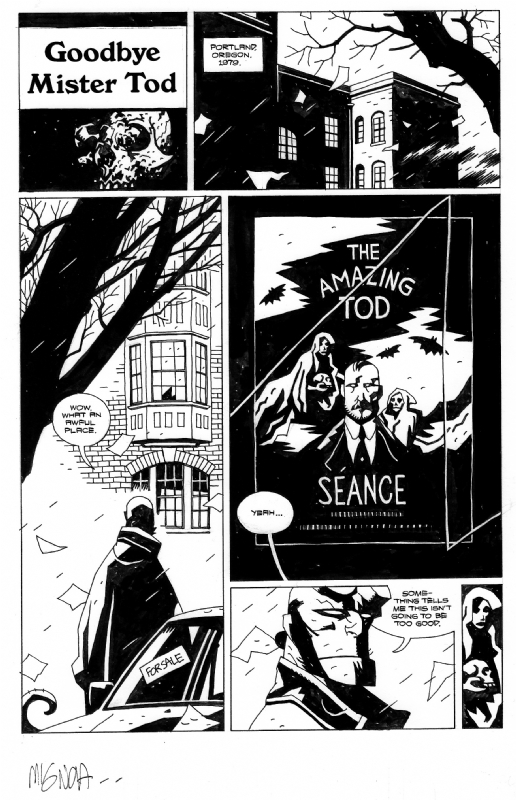 Words and Art:  Mike Mignola