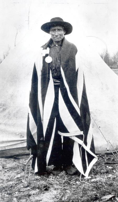 Chief Robert Fiddler, Son of Jack Fiddler
