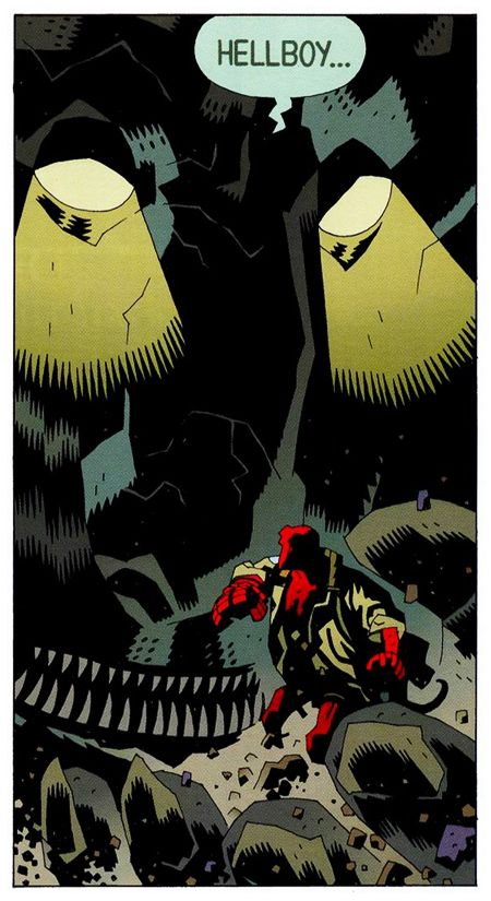 Art:  Mike Mignola   and  Dave Stewart