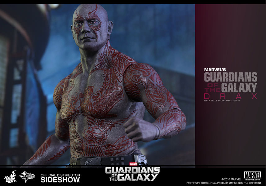 Notice how glaring the seams are.  Photo courtesy of Sideshow Collectibles