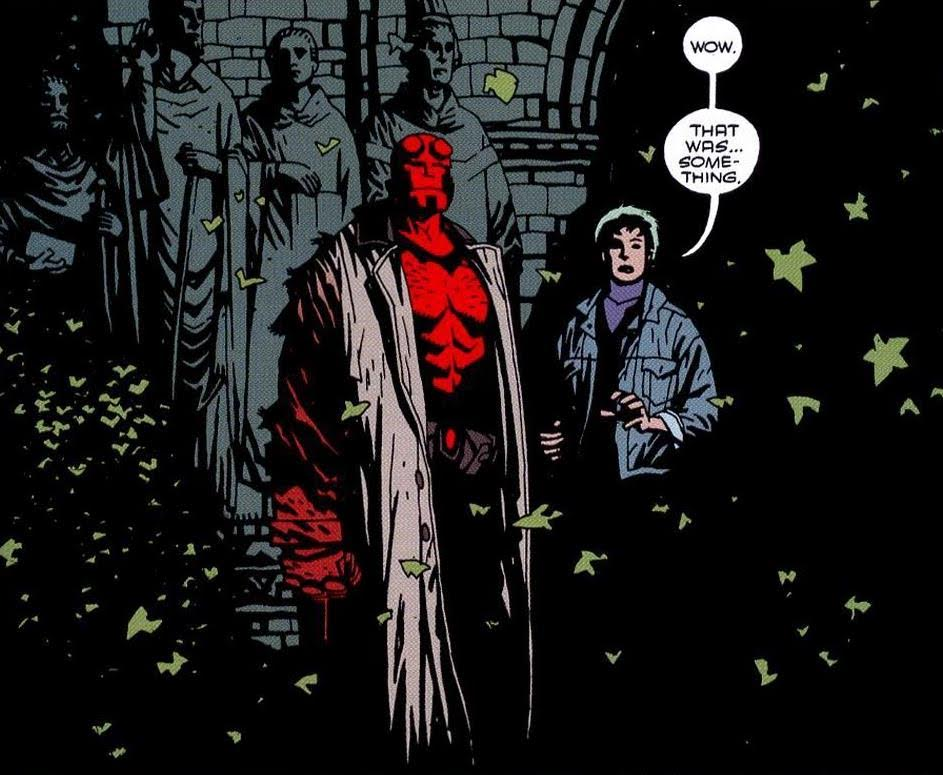 Writer and Artist:   Mike Mignola   Colorist:   James Sinclair