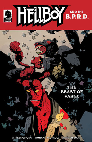 Variant Cover #1 by Mike Mignola