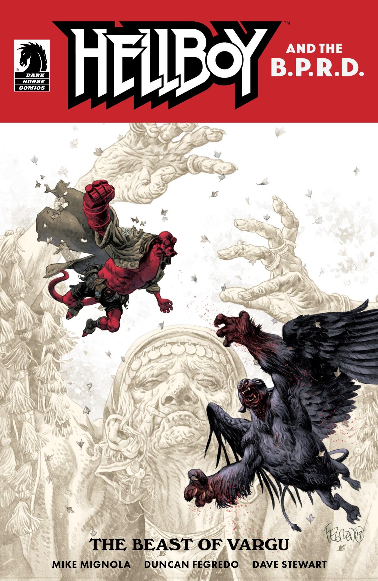 Cover by Duncan Fegredo
