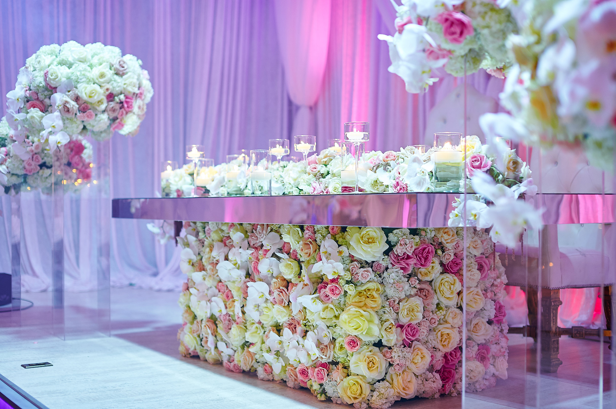 Photo:  Fola Lawal Photography  | Planning, Floral & Event Design:  Kesh Events