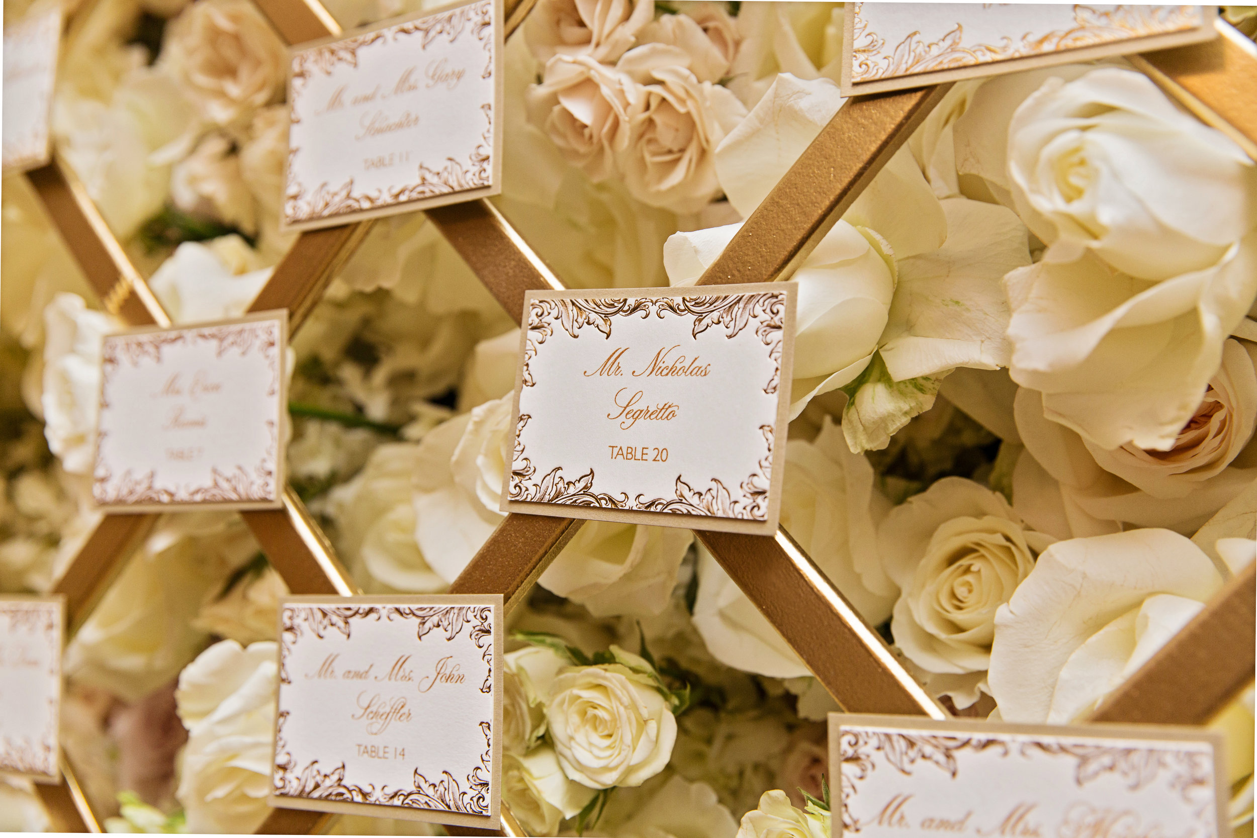 Photo:    Carasco Photography    | Planning, Floral & Event Design:    Kesh Events    | Stationery:    Gourmet Invitations