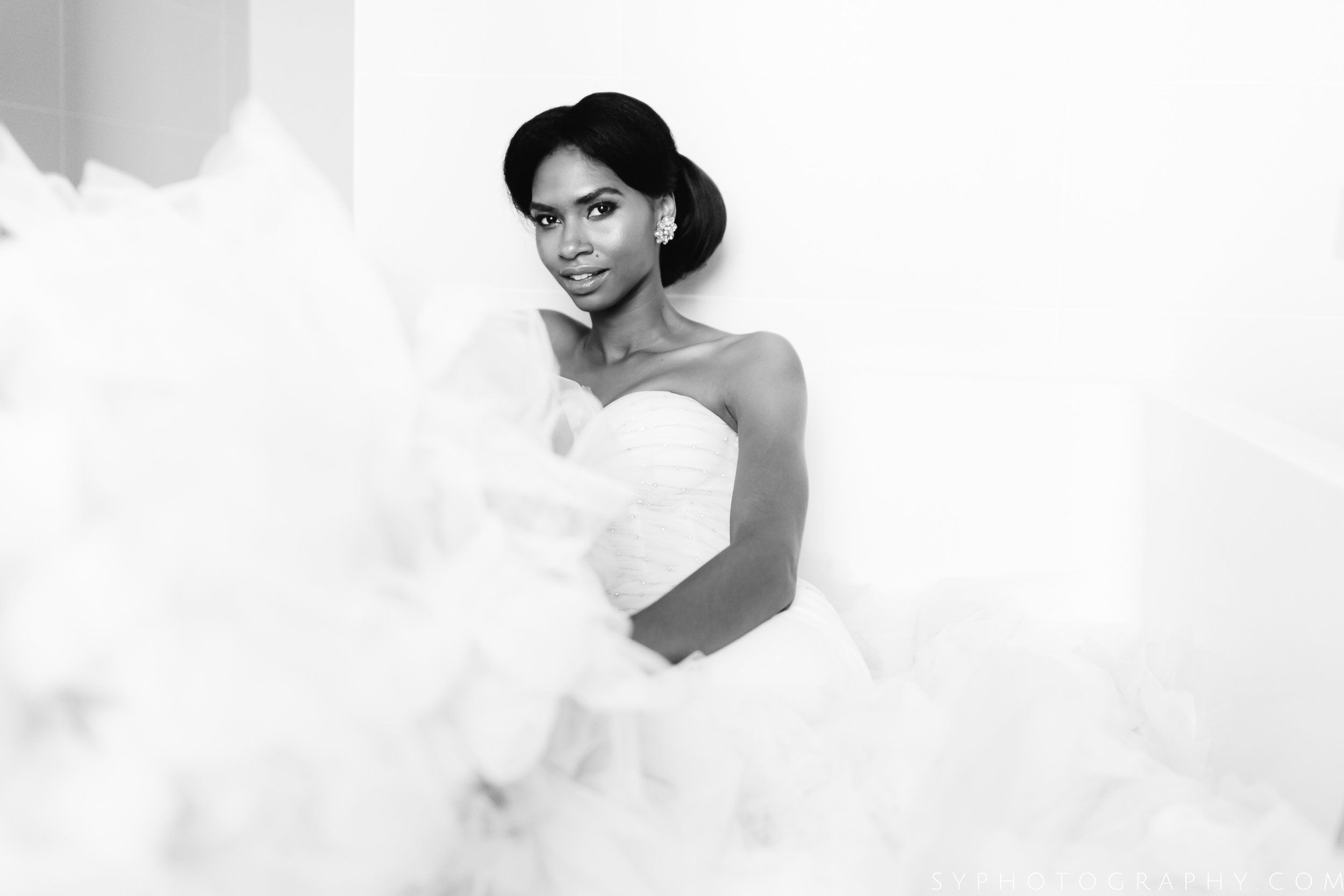 Credits:   Sy Photography   |   Dimitras Bridal   |   Caroline Shaw: The Wedding Dresser   |   Hair by Juan Jose   |   Bridal by Aga Rhoses