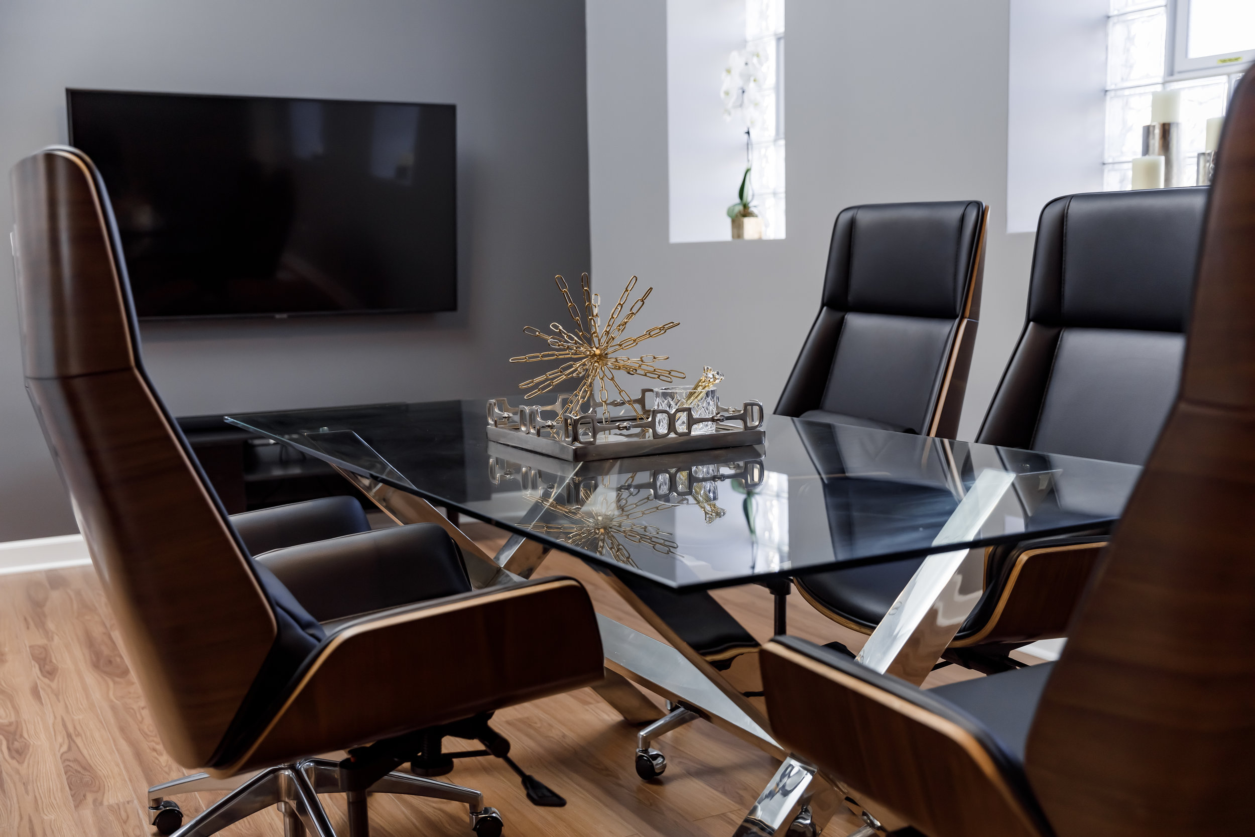 Modern Conference Room - Kesh Events Luxury Wedding Planning and Design Boutique In Chicago
