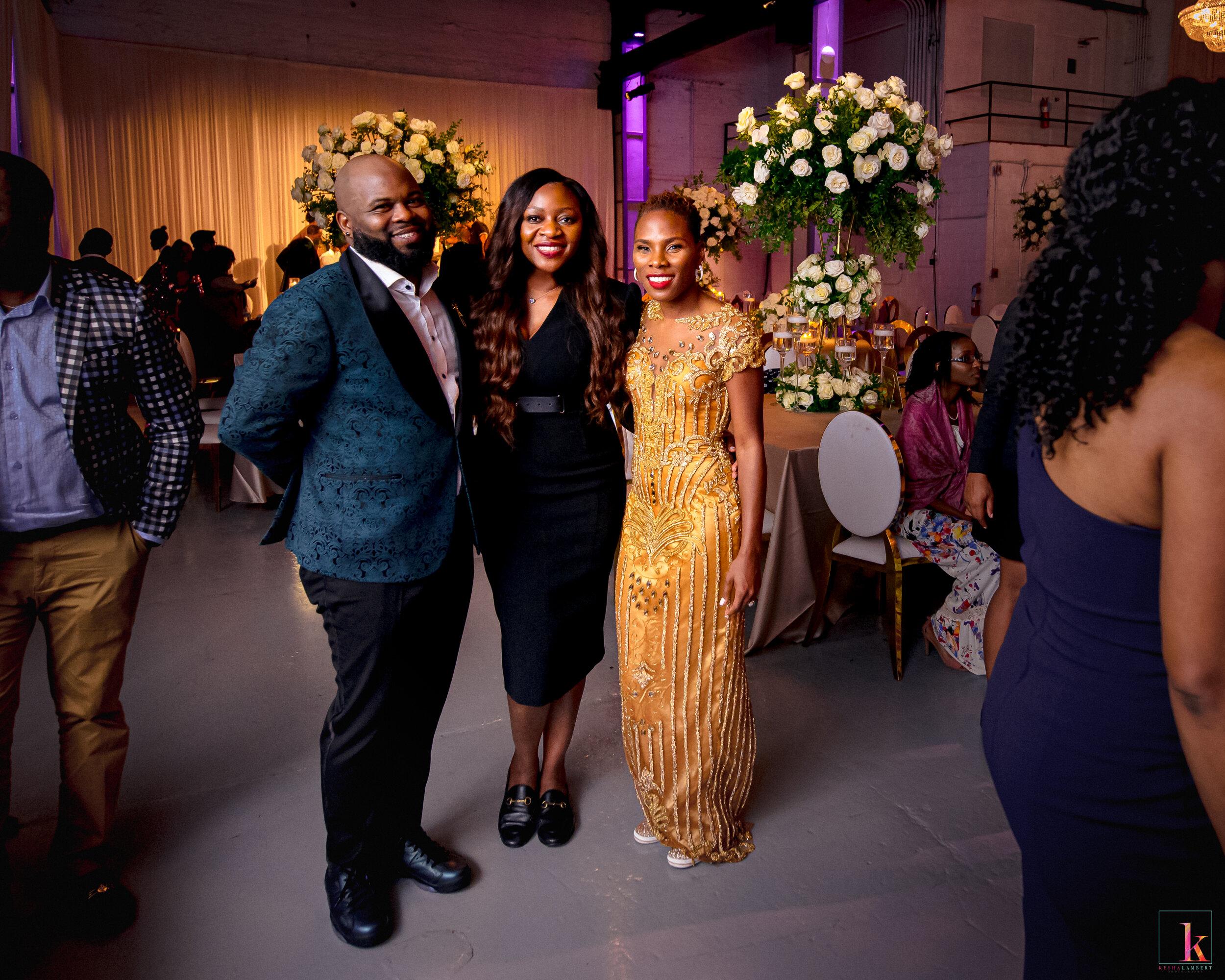 Luvvie Ajayi and Carnell Jones Wedding Celebration planner Akeshi akinseye