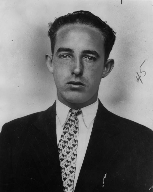 William h. parker's first lapd portrait, 1927   photo: Herald-examiner collection / los angeles public library