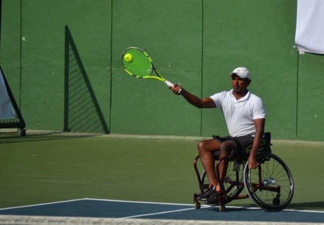 Balachandar Subramanian Wheelchair Tennis Bengaluru