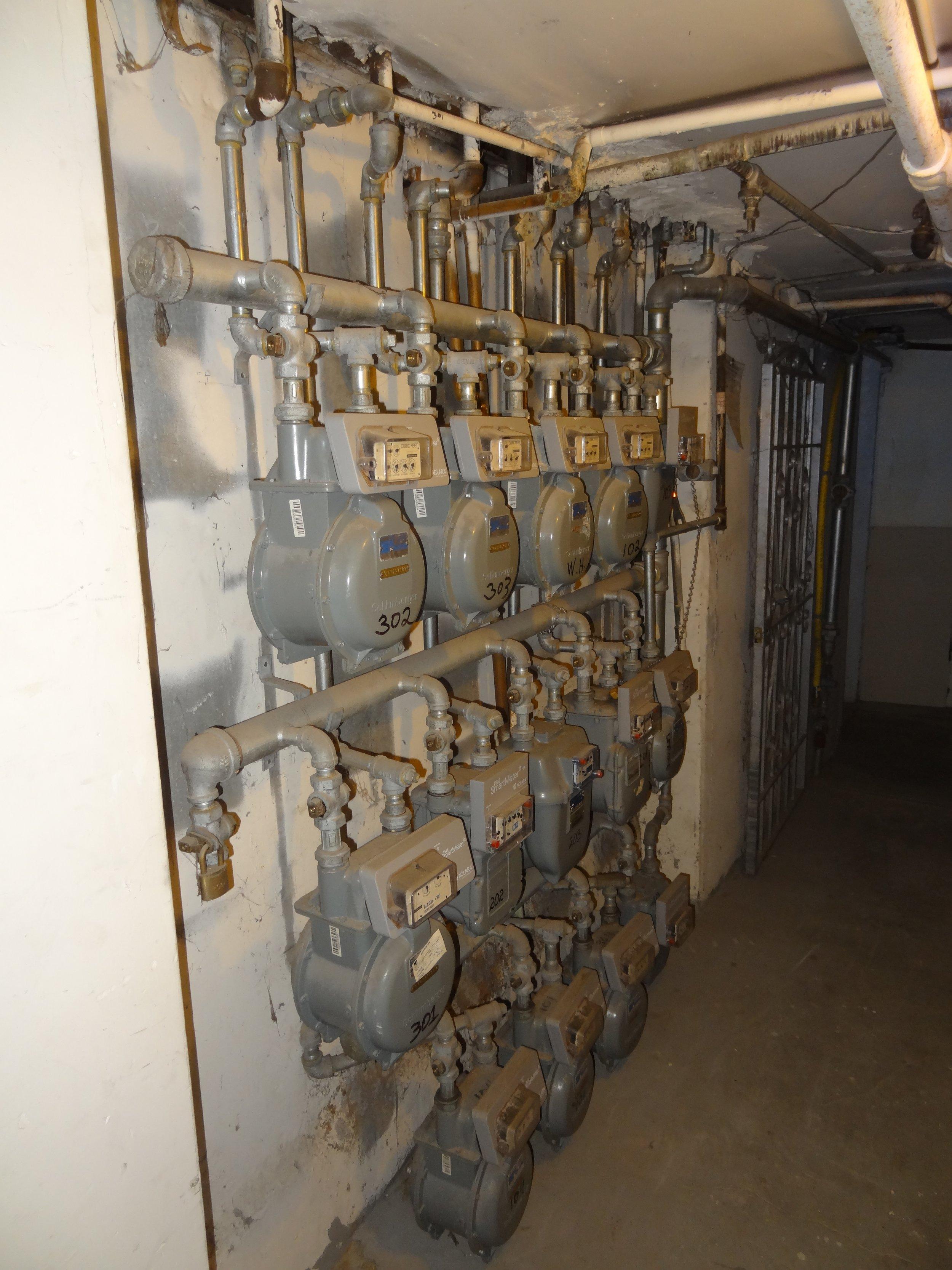 Gas meter terror