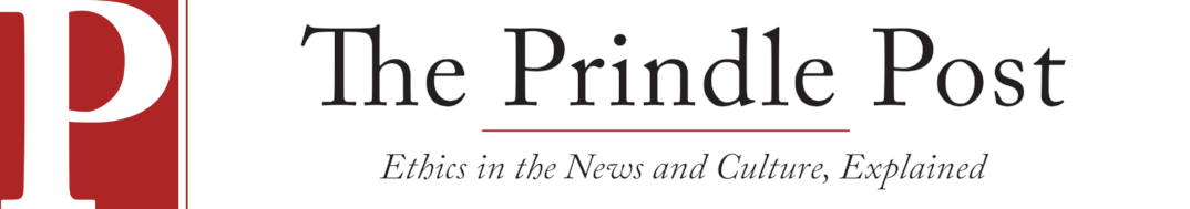 Click here to link to my author page on The Prindle Post, a digital publication examining the key ethical issues behind current events and culture. It is hosted, staffed, and maintained by The Janet Prindle Institute for Ethics at DePauw University.