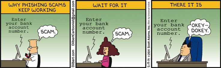 Phishing attacks are almost always successful because there's someone that will click the bad link