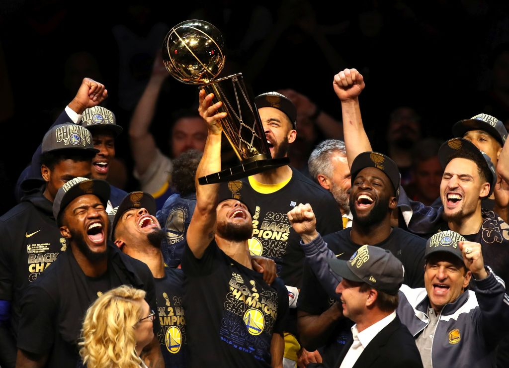 The Golden State Warriors have won three out of the last four national championships