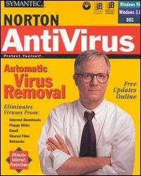 Peter Norton on the cover of his namesake anti-virus software